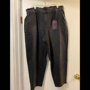 Nobo ultra high rise mom jeans 3XL (21) black